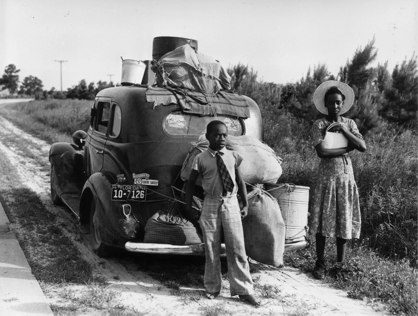 Great migration of Africans across American in the early 20th century