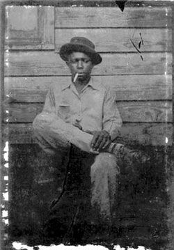 Possible photo of Robert Johnson