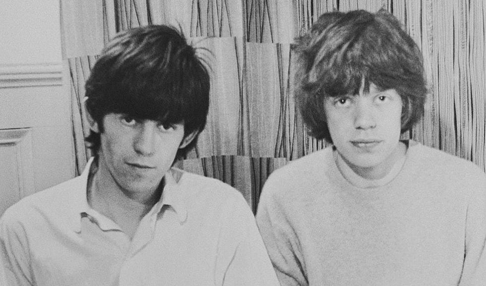 Keith Richards and Mick Jagger early years