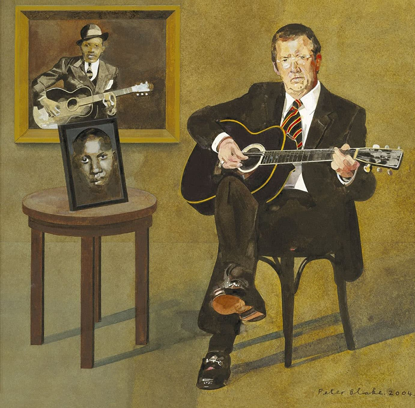 Me and Mr Johnson album cover by Eric Clapton