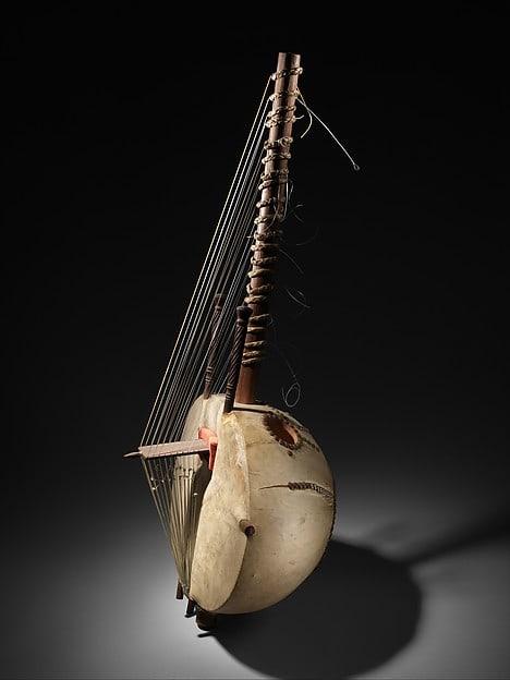 Traditional kora instrument