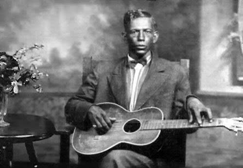 Charley Patton, one of the earliest blues singers
