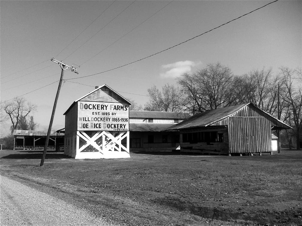 Dockery Farms plantation where many blues musicians convened