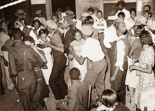 Juke Joint with people dancing