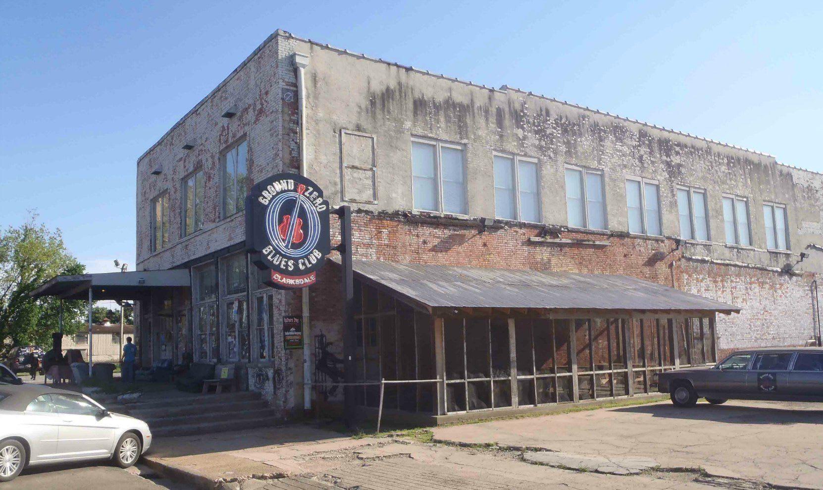 Ground Zero blues club owned by Morgan Freeman