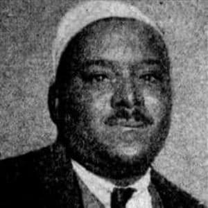 Peg Leg Howell's portrait photo from pre-WWII times