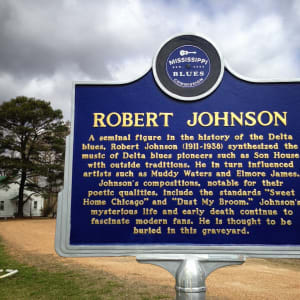 Gravemarker #3 of Robert Johnson