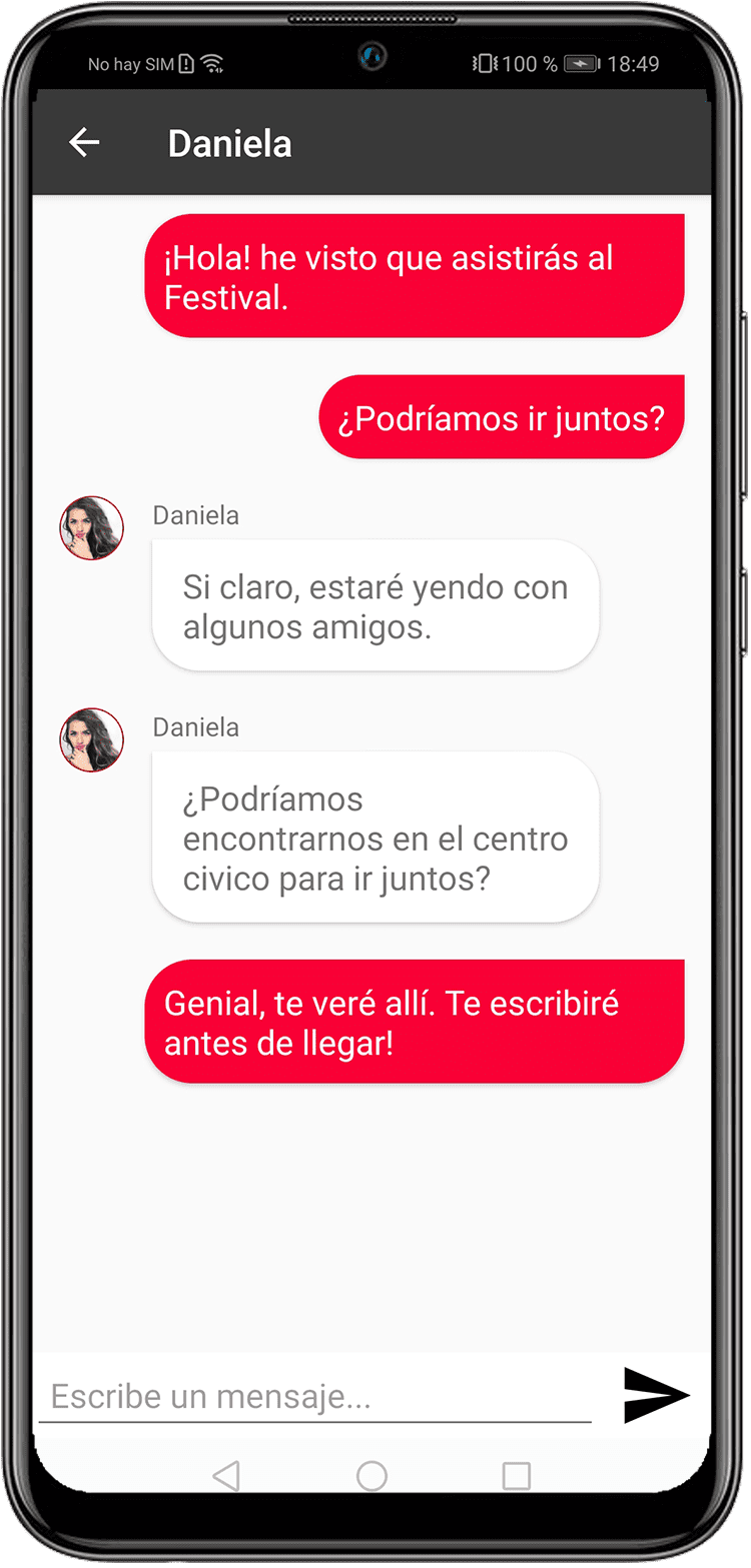 Plugmusix App Preview Chat