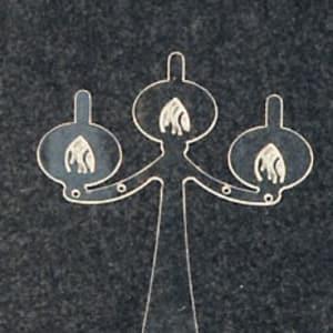Espositore per orecchini in plexiglas