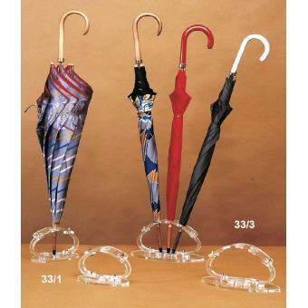 Espositore per 1 ombrello in plex