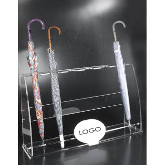 Espositore per ombrelli in plexiglass
