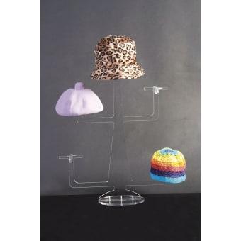 Espositori per cappelli eurovetrina for Porta cappelli