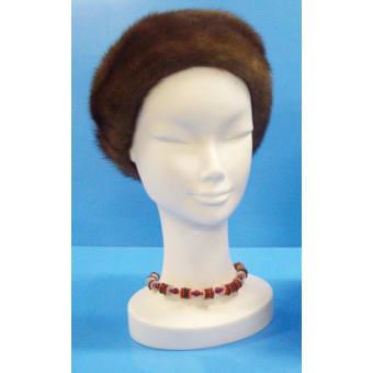 Teste in plastica Donna per cappelli e occhiali 11bd1dd216c3
