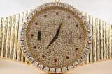 Piaget Massive Emperador, Original Diamond Set Dial and Bezel