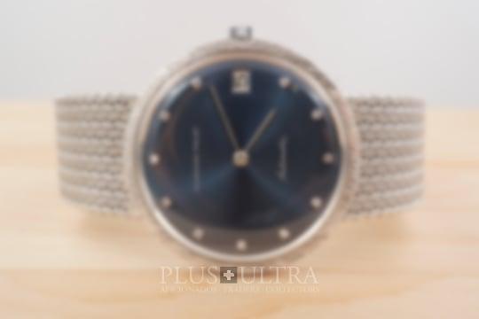Audemars Piguet Blue Sunburst Dial Calatrava, Diamonds & JPE Bracelet