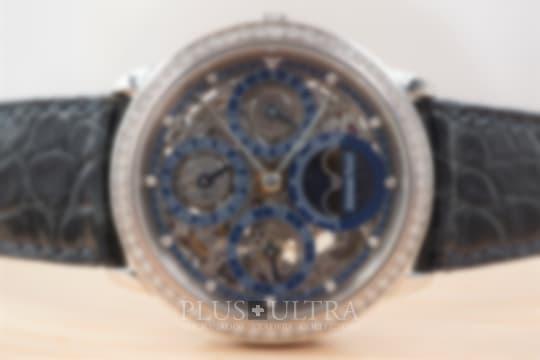 Audemars Piguet Skeleton Platinum Quantieme Perpetual, Diamond Set