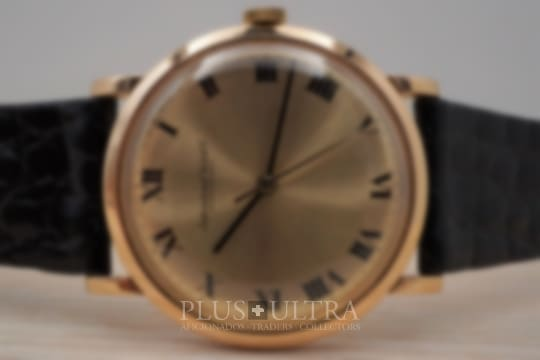 IWC 1960s Rose / Pink Gold Case Moved by Cal 401