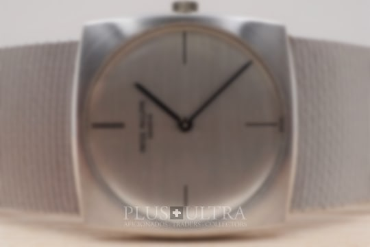 Patek Philippe Vintage White Gold Thin & Fine Gondolo, Full Set