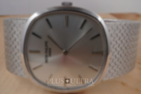 Patek Philippe White Gold Brother of Ellipse d'Or
