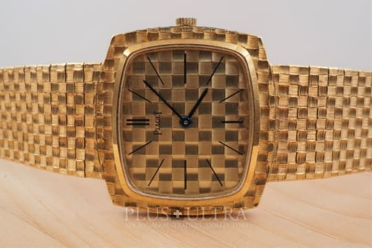 Piaget 1966 TV-Dial & Integrated Bracelet Chess Pattern, 9P