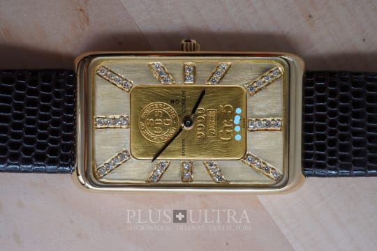 Corum Gold Bar Ingot Diamond Dial