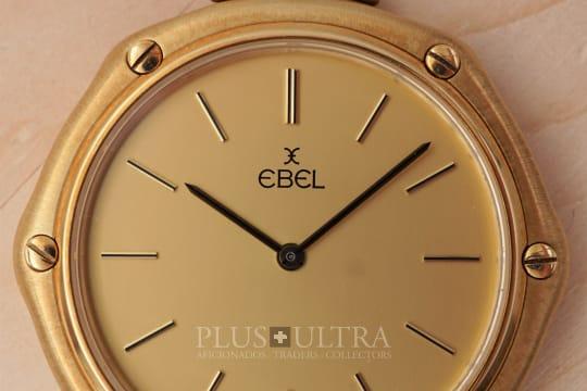 Ebel Iconic Hexagonal Pendant / Pocket Watch, Solid Gold