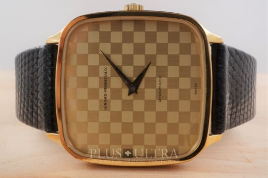 Girard Perregaux 1970s Checkerboard Dial Gyromatic