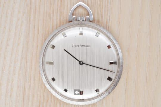 Girard Perregaux White Gold Pocket Watch