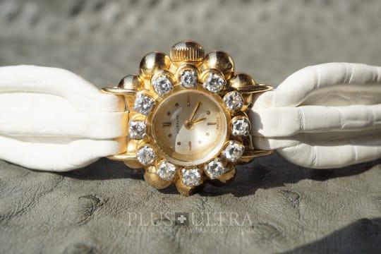 Gubelin Flowery Diamonds Ladies Spring & Summer Watch, 1940