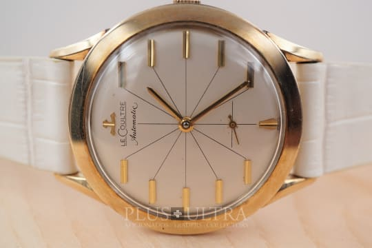 Jaeger LeCoultre 1950s Bumper Automatic, Sector Dial and Horizontal Indexes