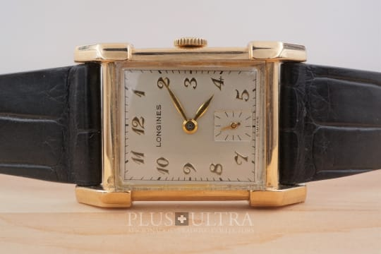 Longines Tank Longines with Applied Breguet Numerals