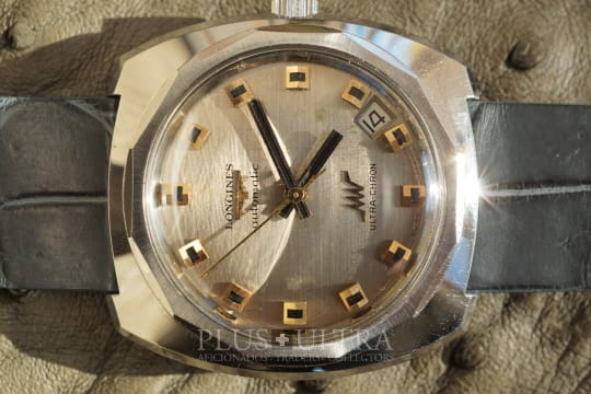 Longines Tungsten Cased Ultra-Chron, Antimagnetic