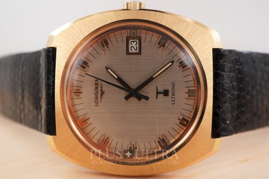 Longines Ultronic, Tuning Fork in 18K Rose Gold