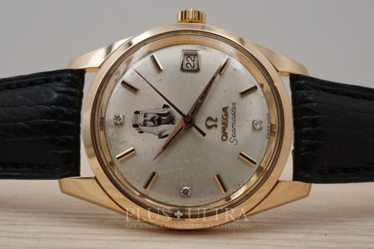 Omega Doublesigned: Bahrain / Saudi Seamaster in Rose Pink Gold