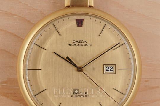 Omega 720Hz MegaSonic Tuning Fork Pocket Watch