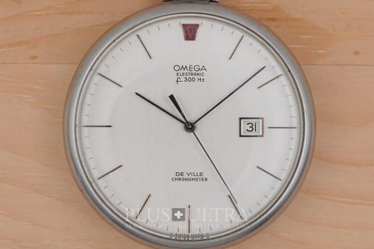 Omega DeVille f300Hz Tuning Fork Pocket Watch