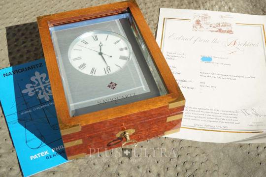 Patek Philippe NaviQuartz, Observatory Chronometer for Yacht or Office