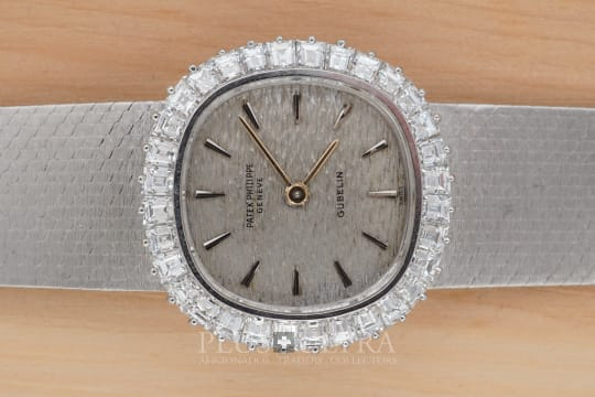 Patek Philippe White Gold Diamonds Ladies Bracelet