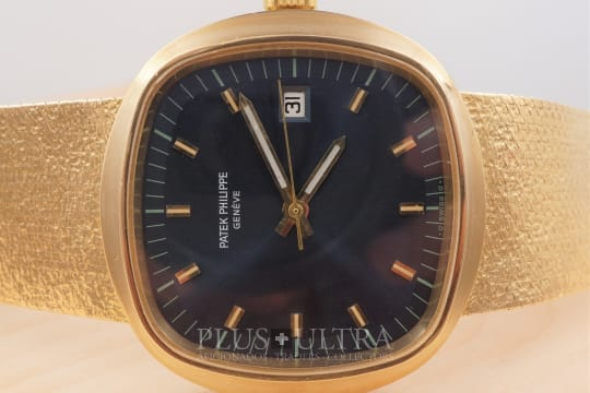 Patek Philippe Iconic 70s Bluegold Jumbo TV-Screen: Beta 21