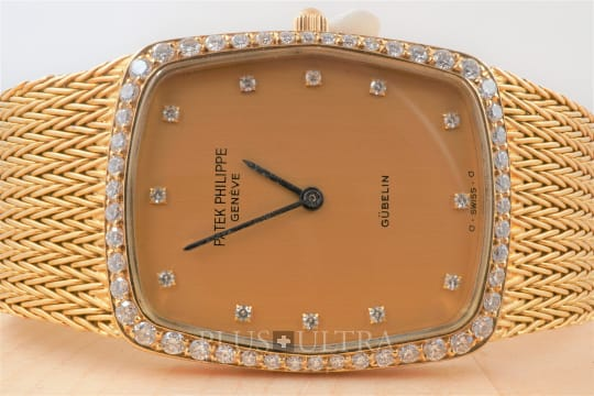 Patek Philippe Ellipse: Diamonds and Doublesigned Dial, Gubelin