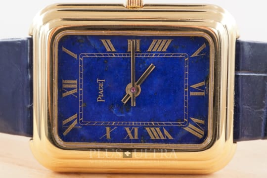 Piaget Yellow Gold Beta 21, Lapis Lazuli Dial