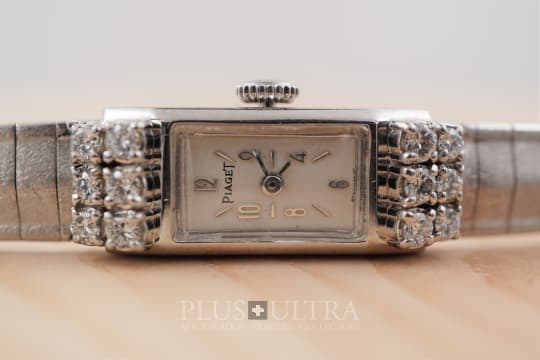 Piaget 1960s White Gold Ladies Bracelet