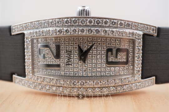 Piaget Limelight, White Gold Ladies Diamond Jewellery Watch
