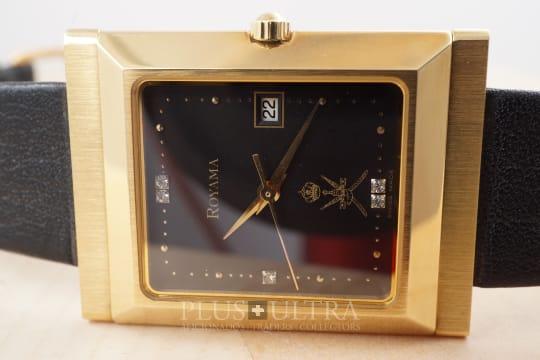 Royama Doublesigned: Oman Mecca-Compass Watch