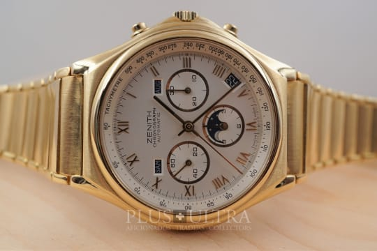 Zenith Triple Calendar El Primero Port Royal, Zenith Serviced