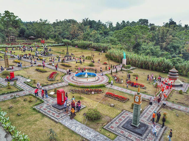 www.travelista.co.id : Merapi Park, The World Landmarks