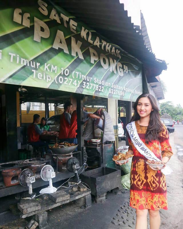 Wisata Kuliner Sate Klatak Pak Pong