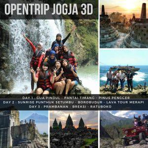 Open Trip Reguler 3D