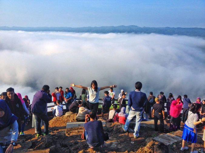 Fog at Mangunan