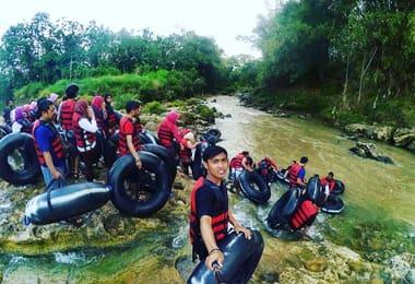 River Tubing Kali Oya Jogja